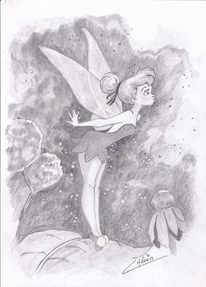 Tinker Bell by lharmonica1